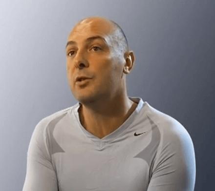 Paolo Cia, campione di tennis in carrozzina