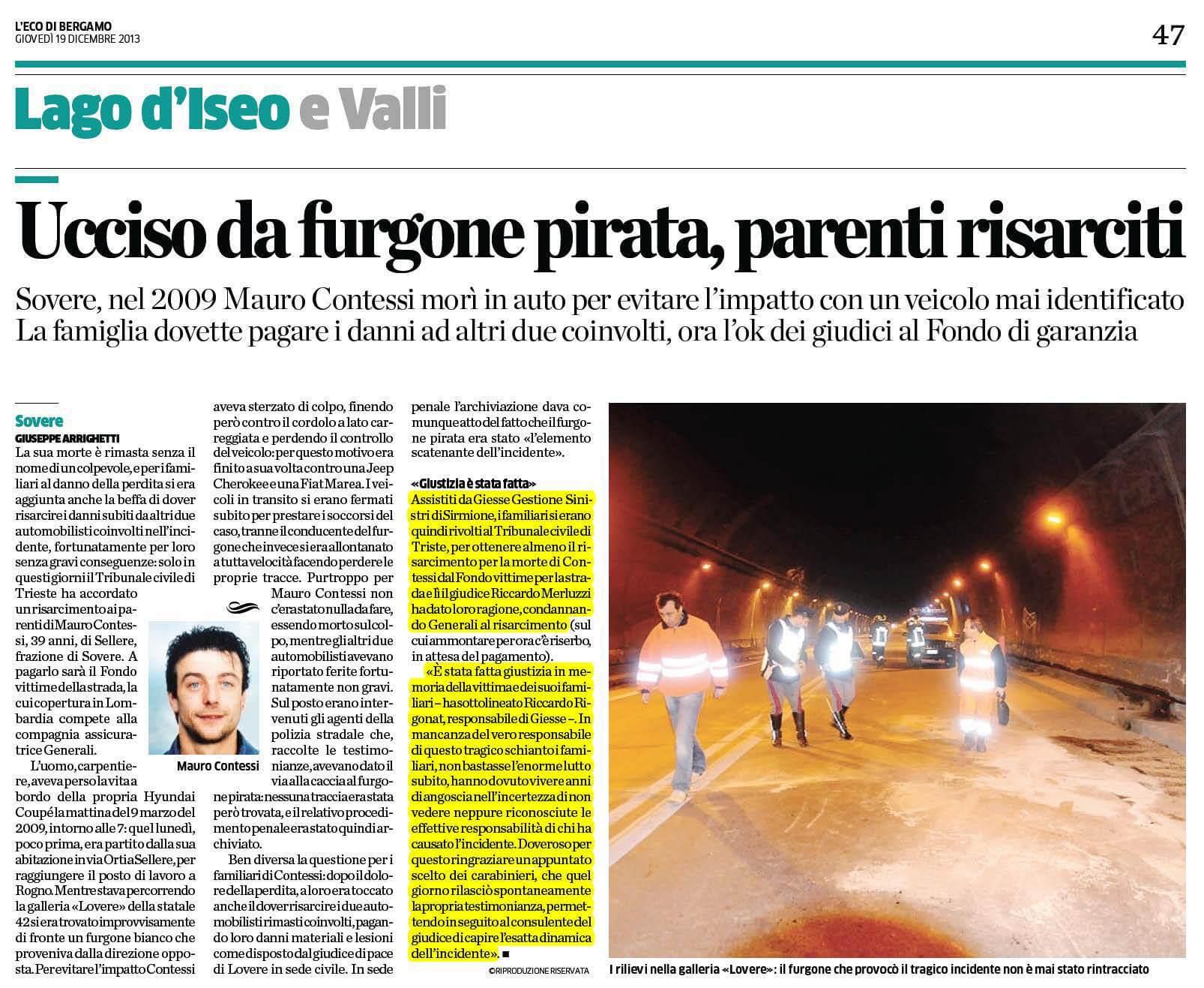 Articolo-Mauro-Contessi-risarcimenento-indicente-stradale