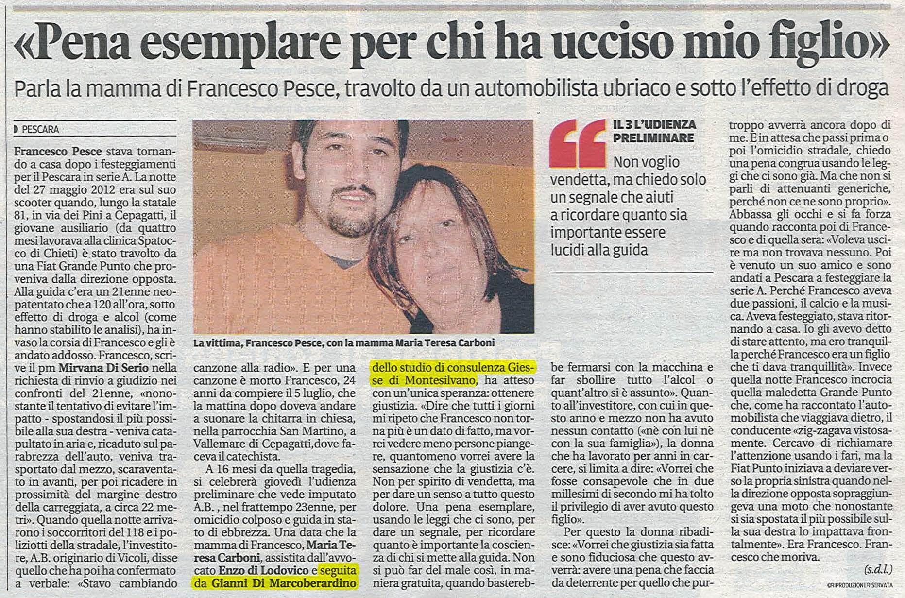 Articolo-Il-Centro-Francesco-Pesce