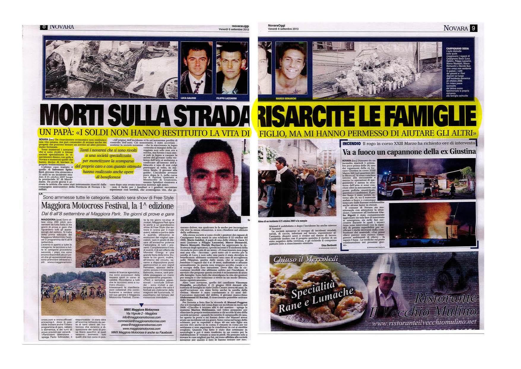 Giesse-Gesione-Sinistri-articolo-Novara-Oggi