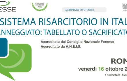 Il sistema risarcitorio in Italia – Danneggiato: tabellato o sacrificato ?