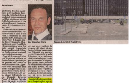 Vicenza risarcimento infortunio sul lavoro