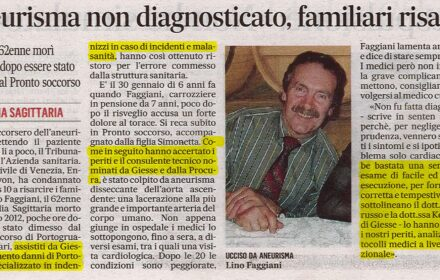 Risarcimento errore medico Venezia