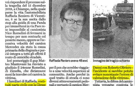 Omicidio stradale Vicenza