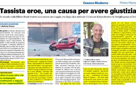 Incidente mortale Milano-Meda