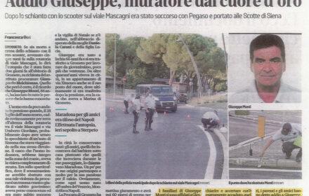 Incidente moto Grosseto
